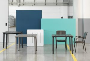Musa Chairs & Maestrale Table 90 (Different Colours)