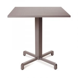 Fiore Table Base / Durel Table Top - Taupe