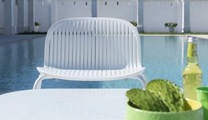 Ninfea Relax Pool Side Chair NZ - Next to Pool
