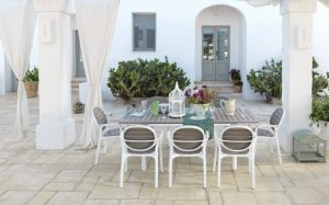 Palma Garden Armchair NZ with Alloro Table