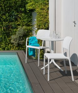 Bora Modern Outdoor Chair NZ - Spritz Setting Pool Side
