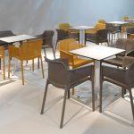 Net Indoor / Outdoor Cafe Chair NZ - In Restaurant / Cafe Settings