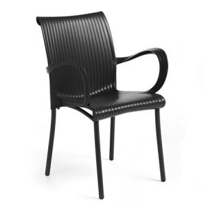 Dama Chair - Charcoal