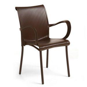 Dama Chair - Coffee Colour