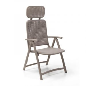 Aquamarina Reclining Pool Chair NZ - Taupe
