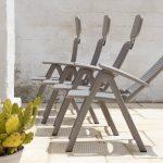 Aquamarina Reclining Pool Chair - 4 Back Rest Positions