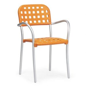 Aurora Contemporary Cafe Chair NZ - Orange