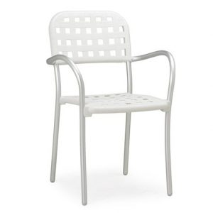 Aurora Contemporary Cafe Chair NZ - White