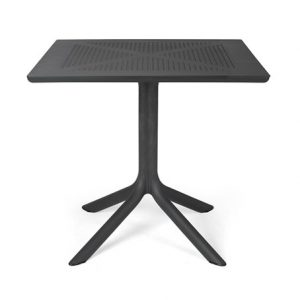 Clip Outdoor Cafe Table - Charcoal