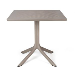 Clip Outdoor Cafe Table - Taupe