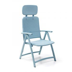 Aquamarina Reclining Pool Chair NZ - Blue
