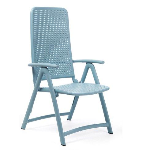 Darsena Reclining Pool Safe Chair NZ - Blue