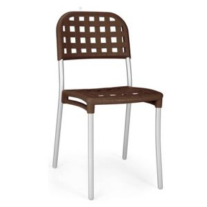 Alaska Weave Chair NZ - Coffee
