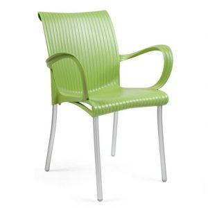 Dama Commercial Armchair NZ - Green