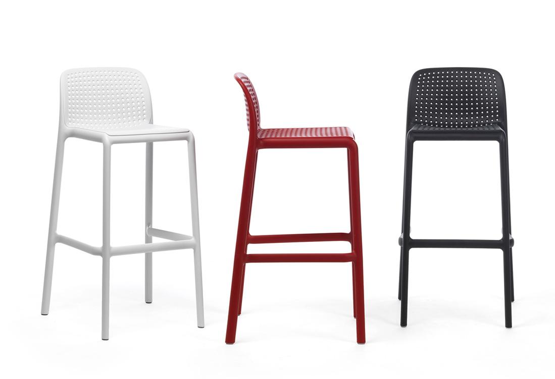 lido modern outdoor bar stool  hospitality furniture nz -