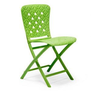 Zac Spring Folding Outdoor Chair NZ - Lime Green