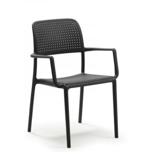Bora Modern Outdoor Arm Chair NZ - Charcoal