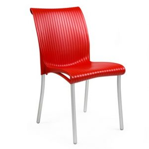 Regina Commercial Chair NZ - Red