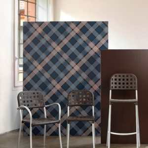 Globo Weave Bar Stool NZ - Pictured with Alaska Weave Chair & Armchair Version