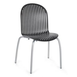 Ninfea Outdoor Dining Chair NZ - Charcoal