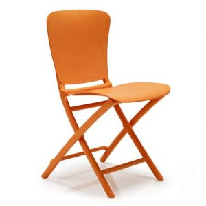 Zac Classic Foldable Chair NZ - Orange
