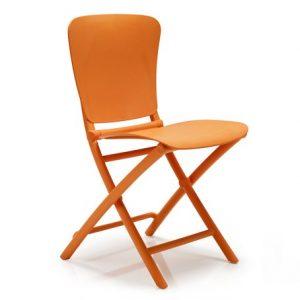 Zac Classic Foldable Chair NZ - Orange