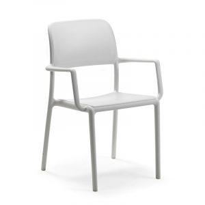 Riva Resin Outdoor Armchair NZ - White