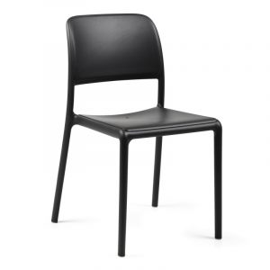 Riva Resin Outdoor Chair NZ - Charcoal