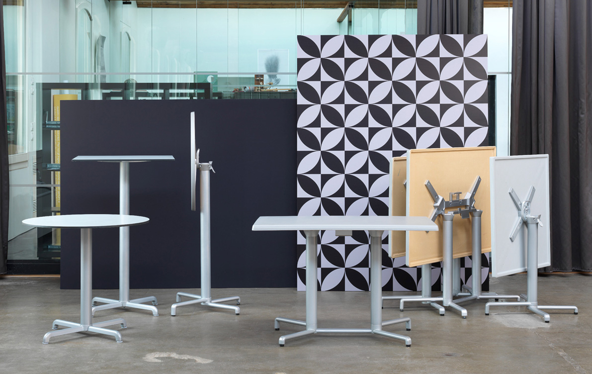 Scudo Folding Table Base Hospitality Furniture NZ