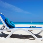 Omega Resort Sun Lounger on Beach