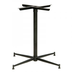 Tasman Table Base 590 - Powder Coated Black