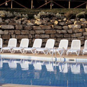 Tropico Sun Loungers by pool