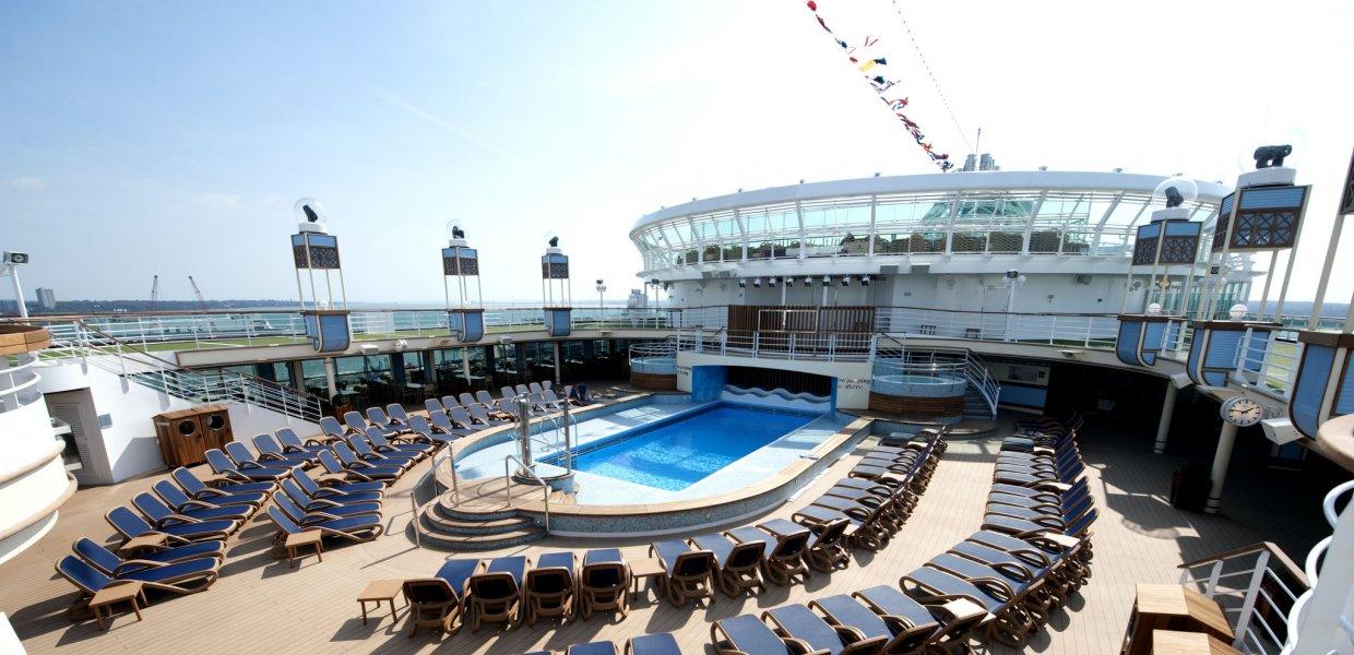 Sun Loungers NZ - Cruise Ship Deck