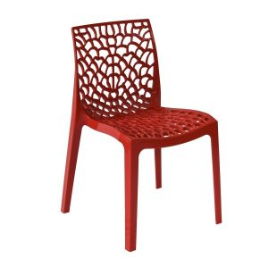 Gruvyer / Lace Chair - Red