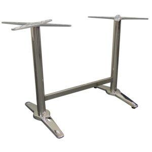 Soho / Roma Chrome Double Table Base NZ