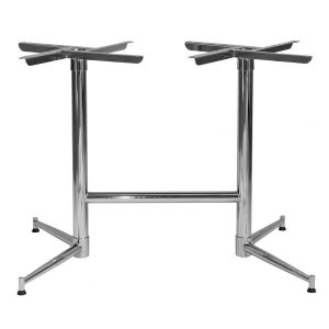 Tasman Double Chrome Table Base NZ