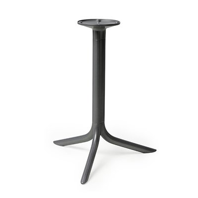 Break 3 Foot Table Base - Charcoal