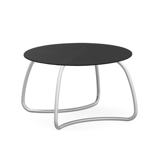 Loto Ø120 Dining Table – Charcoal