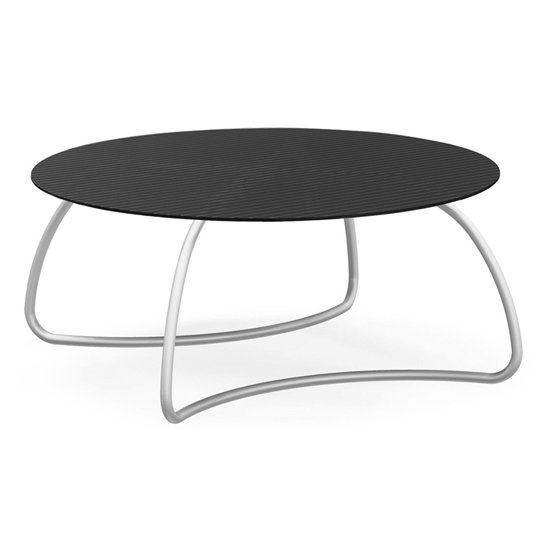 Loto Ø170 Dining Table – Charcoal