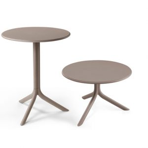 Spritz Table & Spritz Coffee Table - Taupe