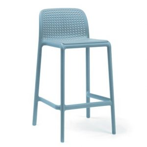 Lido Counter Height Bar Stool - Blue