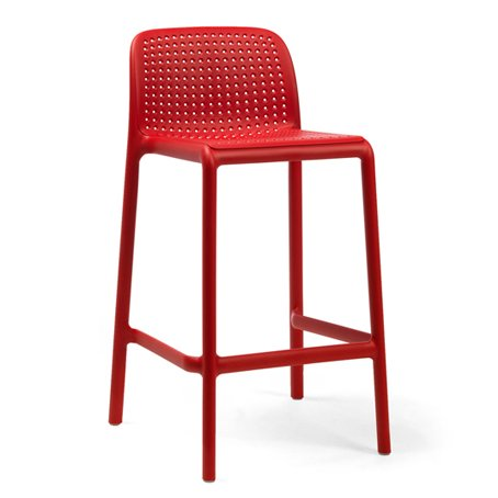 Lido Counter Height Bar Stool - Red