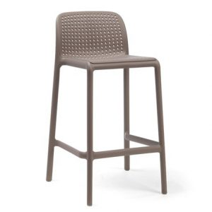 Lido Counter Height Bar Stool - Taupe